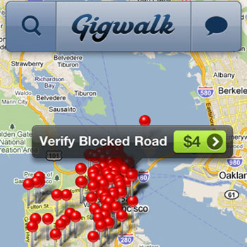 Gigwalk Pays You For Visiting Local Businesses