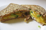Avocado and Cheddar Chicken Melt