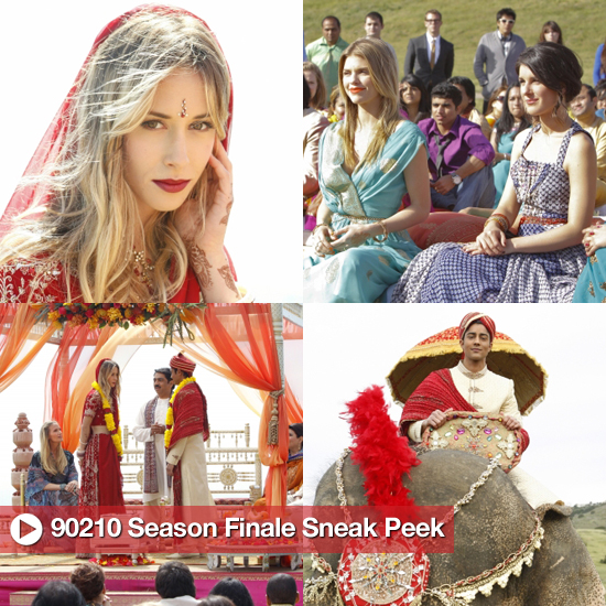 90210 Pictures of Ivy&#039;s Wedding on the Season Finale