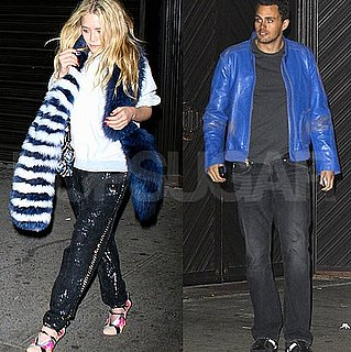 Mary-Kate Olsen With New Mystery Man Leaving The Darby in NYC