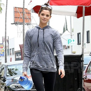 Ashley Greene Gym Pictures