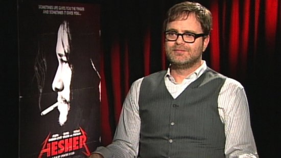 Hesher's Rainn Wilson on Getting Serious, the Future of The Office, and Being a Dad
