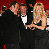 Goldie Hawn and Kurt Russell were all smiles with Quentin Tarantino in 2007.