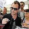 Jude Law Arriving in Nice, France, For the Cannes Film Festival 2011-05-10 10:31:44