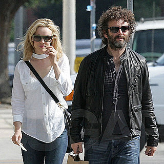 Rachel McAdams Pictures With Michael Sheen and Lily Sheen