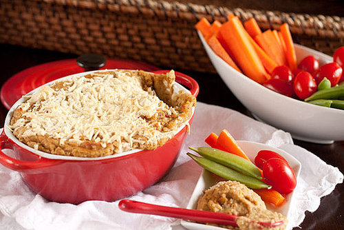 Baked French Onion Hummus