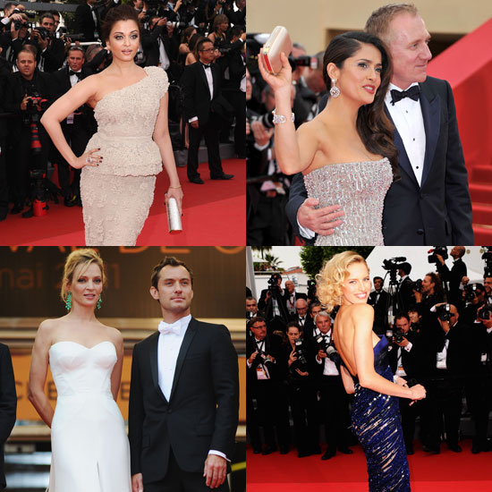 Pictures of Celebrities at the 2011 Cannes Film Festival Opening Ceremony
