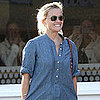 Reese Witherspoon Pictures With Walking Cast in LA