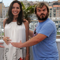 Angelina Jolie Gave Jack Black's Wife a Maternity Dress