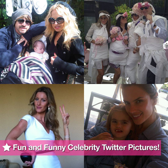 Victoria Beckham, Rachel Zoe, Gisele Bundchen, and More in This Week's Fun and Funny Celebrity Twitter Pictures!