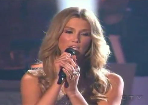 "Video of Delta Goodrem Singing ""I'm Not Ready"" Duet With Michael Bolton on Dancing With the Stars America"