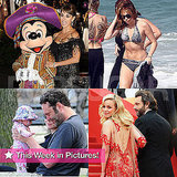 Angelina, Miley Bikini, Penelope, Posh, and More in This Week in Pictures!