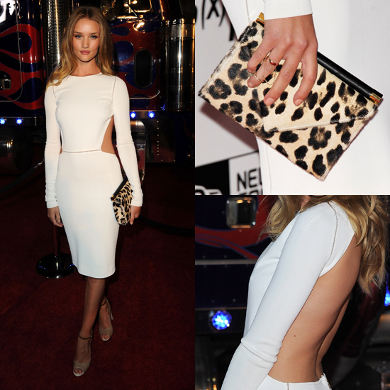 Rosie Huntington-Whiteley's White-Hot Look From All Angles