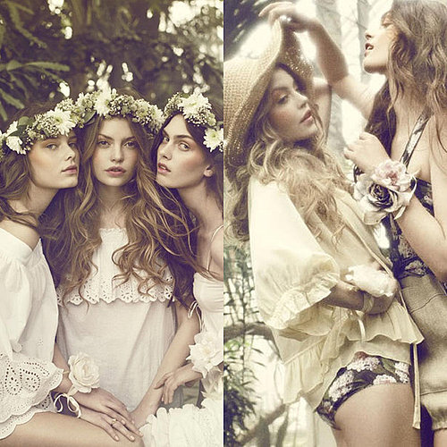 Romantic Fashion in Elle Magazine