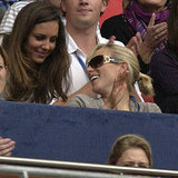 Now cousins-in-law, Kate Middleton and Zara chatted during the Concert For Diana in 2007.