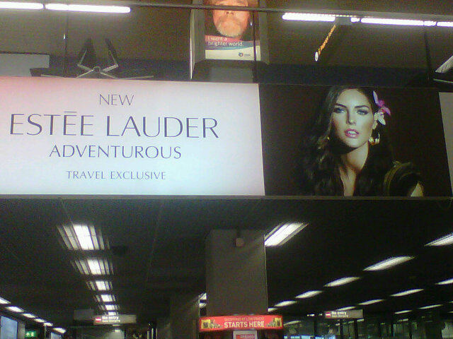 Hilary Rhoda in the new Estee Lauder ad for Adventurous Twitter User: LonnekeEngel