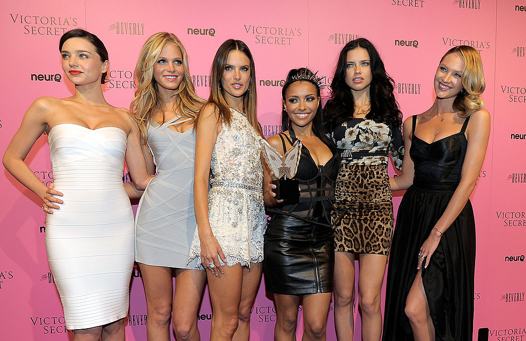 Miranda, Alessandra, Adriana, and More Angels Get Sexy For Victoria's Secret