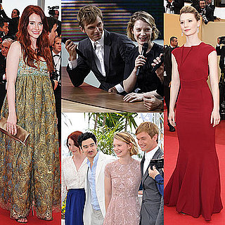 Mia Wasikowska, Henry Hopper, and Bryce Dallas Howard 2011 Cannes Film Festival Pictures