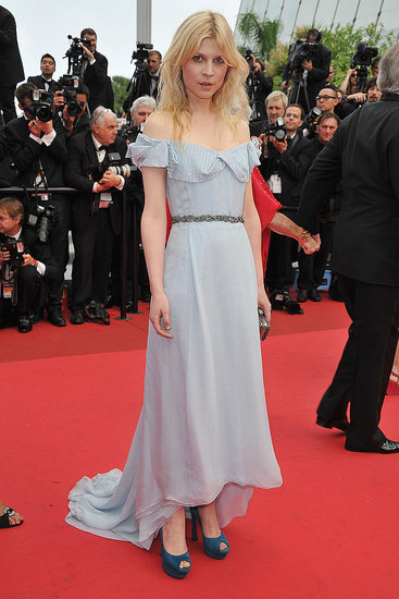 Clemence Poesy in Yves Saint Laurent