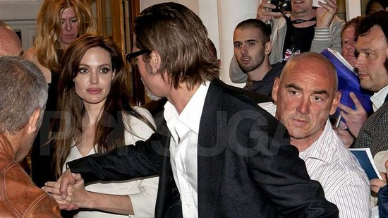 Video: Brad Pitt and Angelina Jolie Have a Romantic Date Night in Cannes Before Brad's Big Premiere!