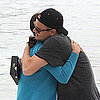 Leonardo DiCaprio Pictures Hugging Someone in Cannes After Breakup With Bar Refaeli