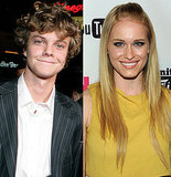 Jack Quaid and Leven Rambin as Marvel and Glimmer