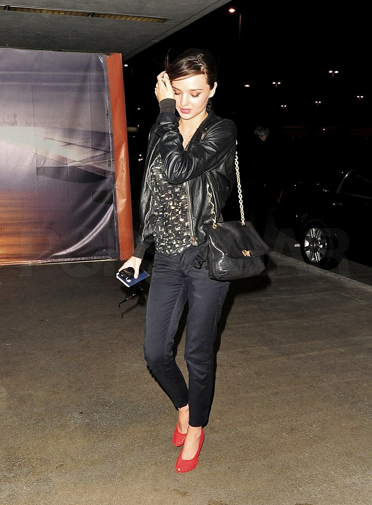 Miranda Kerr Appreciates Flynn's Smile as Orlando Bloom Holds Down the Fort at Home