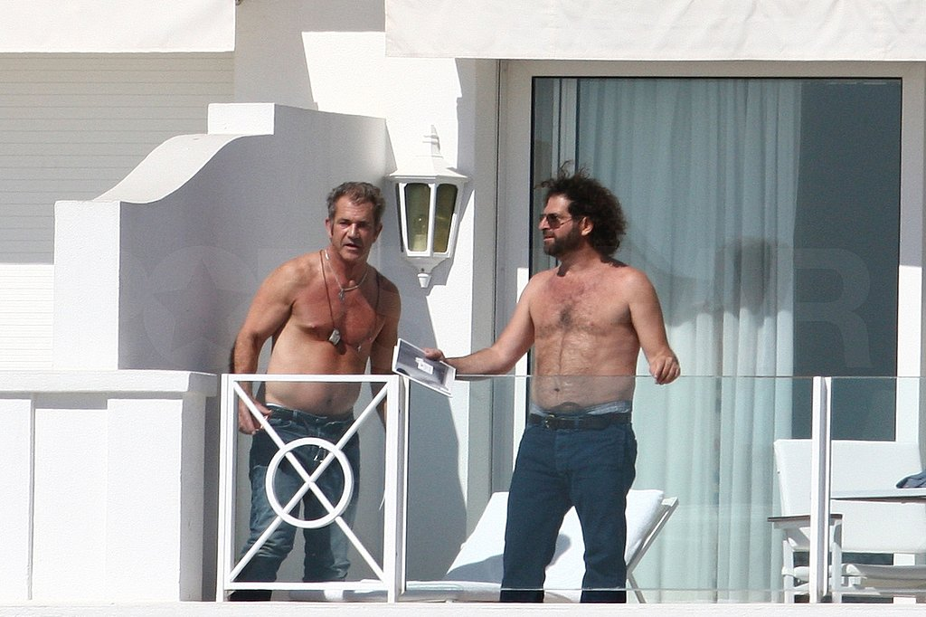 Mel Gibson Treats Cannes to a Shirtless Sighting Ahead of His Beaver Premiere