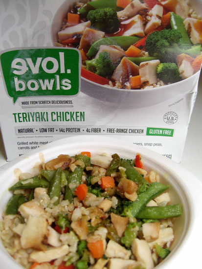 Evol Bowls Teriyaki Chicken