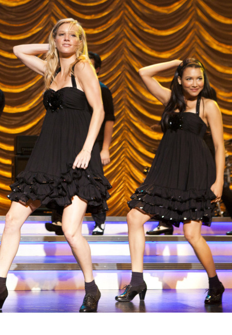 Brittany and Santana getting sassy to an original song.