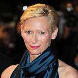Tilda Swinton's Hot Pink Makeup Look