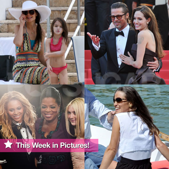 Brad and Angelina, Pippa in Spain, Suri at the Pool, and More in This Week in Pictures!
