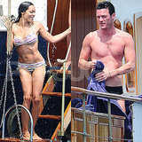 Bikini-Clad Rosario Dawson Makes a Splash With Sexy Shirtless Luke Evans in Cannes