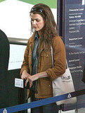 Keri Russell Wraps Up a Trip Away From Her Brooklyn Base