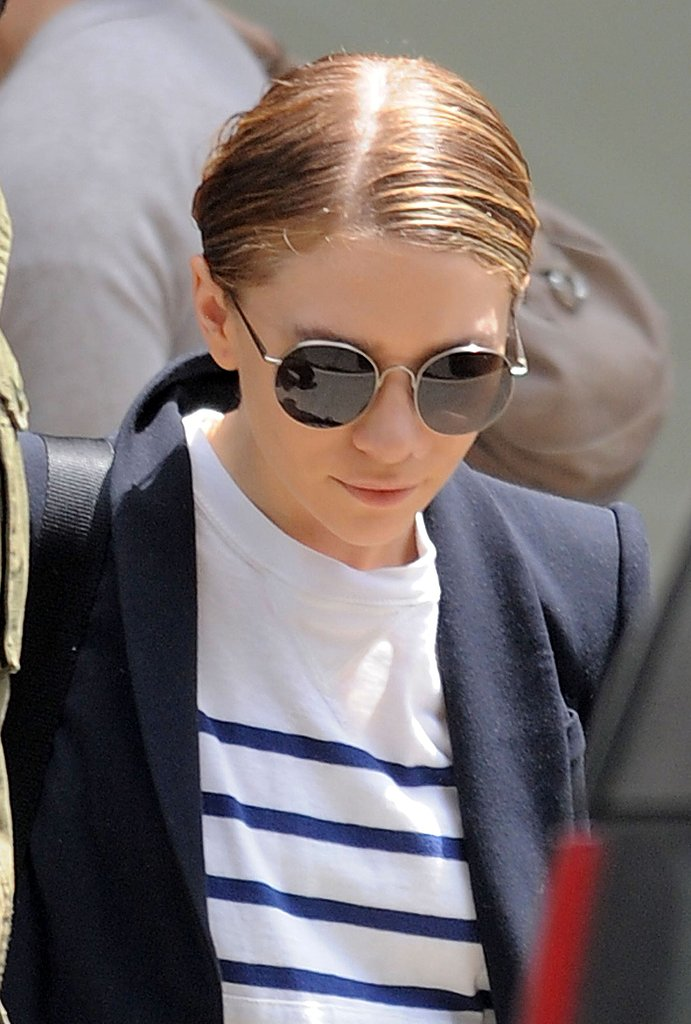 Ashley Olsen Gets a Lift From Her Funky Prada Oxfords