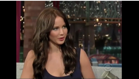 Video: Jennifer Lawrence Talks Hunger Games, Horseback Riding, and X-Men on Letterman