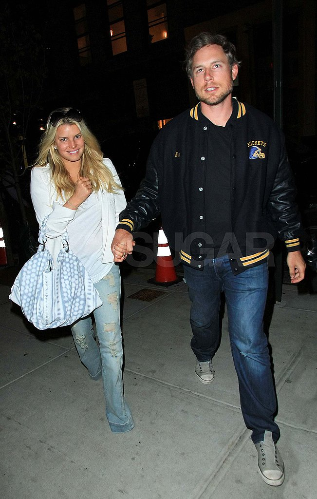 Jessica Simpson and Eric Johnson Take Their Love to NYC