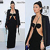 Giovanna Battaglia in Sexy Dress at amfAR Gala