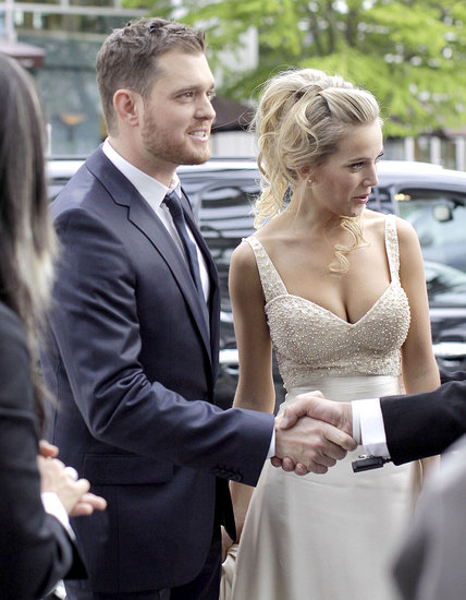 Michael Bublé and Luisana Lopilato Celebrate Their Wedding Again in Vancouver!