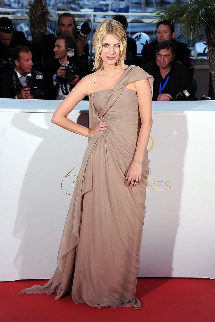 Melanie Laurent in Christian Dior couture