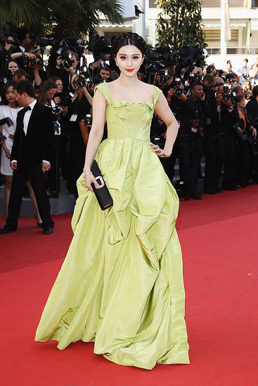 Fan Bing Bing in Oscar de la Renta