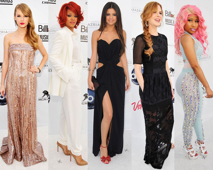 Selena, Rihanna, Taylor, and More Light Up the Billboard Red Carpet