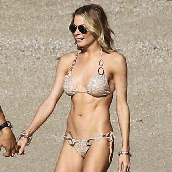 LeAnn Rimes Flaunts Her Newlywed Glow in a Bikini on the Beach With Eddie Cibrian
