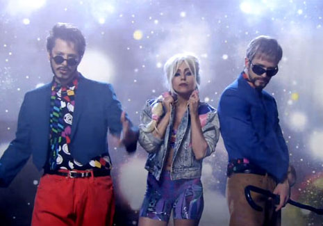 Video of Justin Timberlake and Andy Samberg's 3-Way Saturday Night Live Digital Short with Lady Gaga
