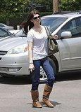 Ashley Greene Gets Down to Business and Lunches With a Friend in LA