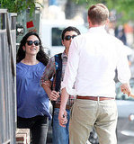 Pregnant Jennifer Connelly Greets Her Boys With a Smile
