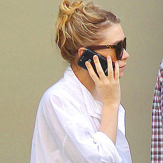Pictures of Ashley Olsen on the Phone in NYC