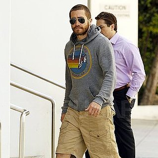 Jake Gyllenhaal Wears Aviator Nation Apparel