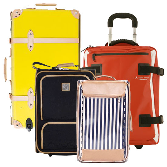 Summer Travel: 10 Chic Suitcases