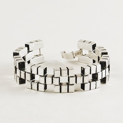 We can't wait to stack these on our wrists.  J.Crew Brick Lane Bracelet ($30, originally $50)